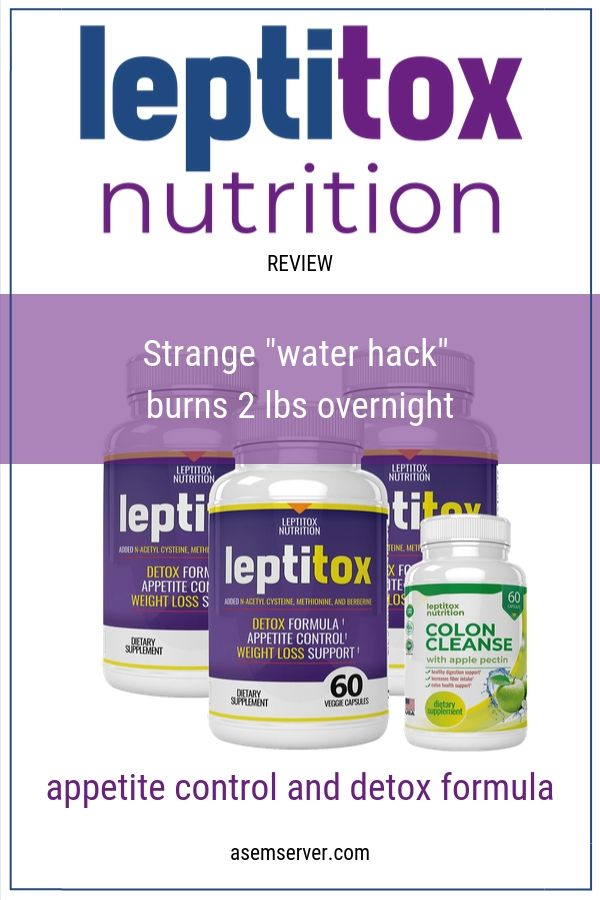 Box Contents Leptitox Weight Loss